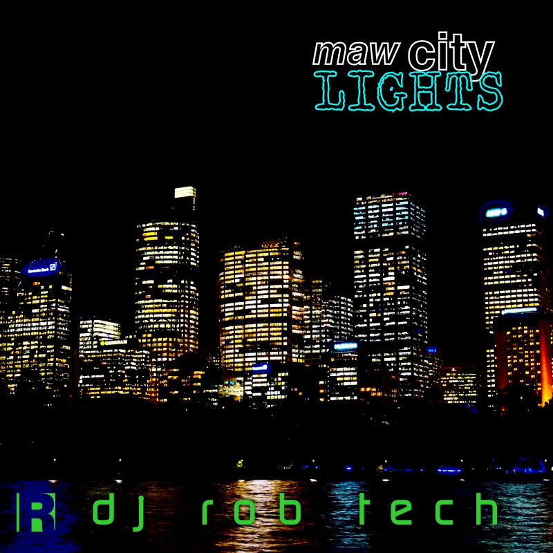 Maw City Lights cover